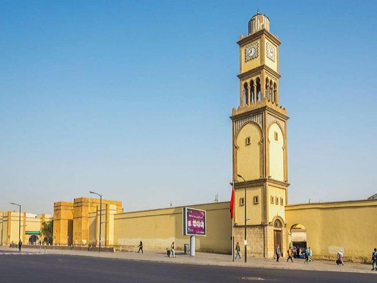 Clock Tower in Casablanca