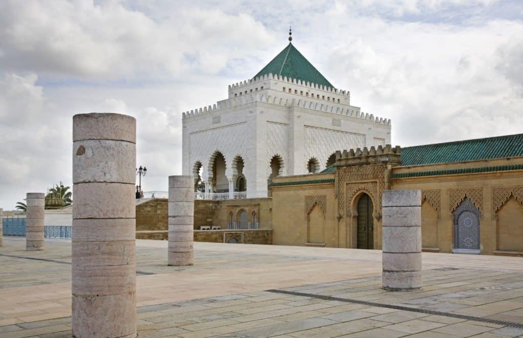 Mohammed V Mausoleum in Rabat
