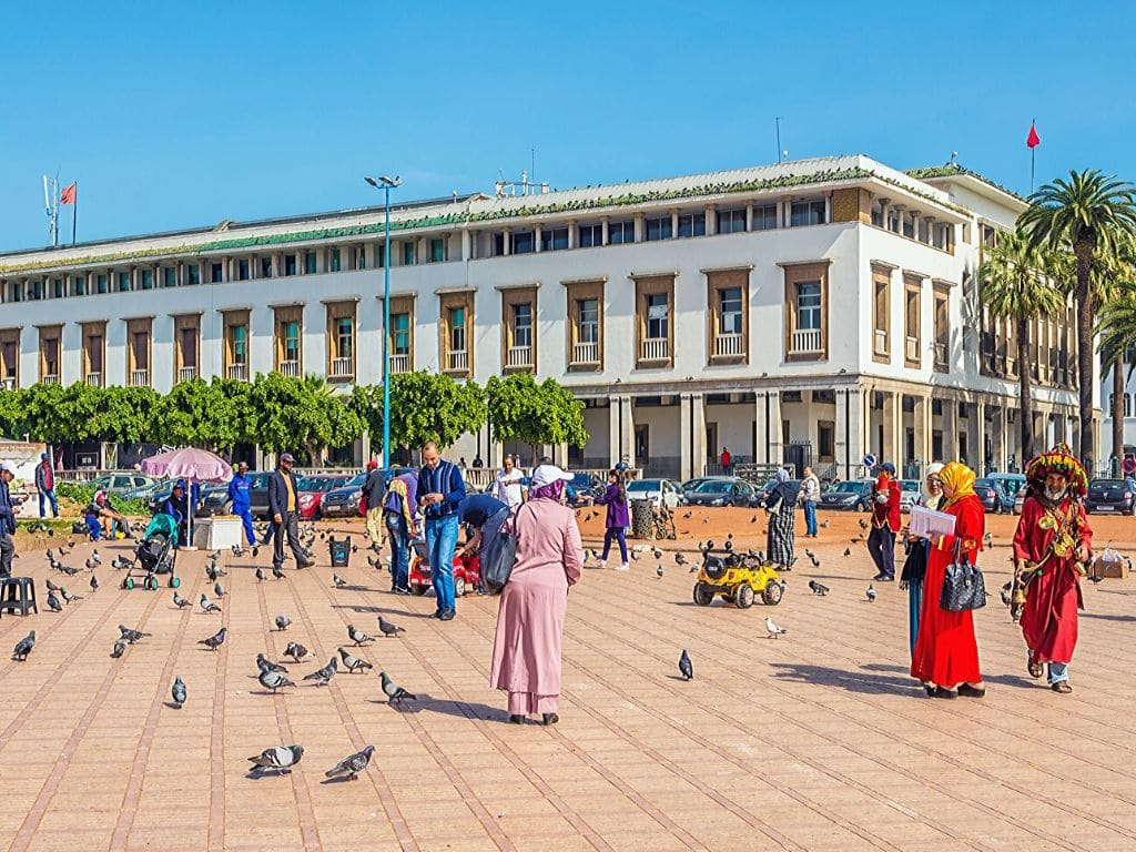 Square Mohammed V in Casablanca