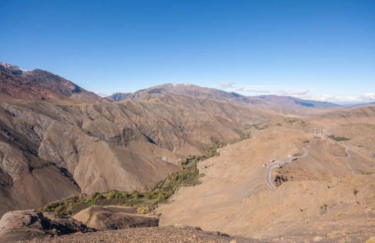 Tichka Mountain Pass Morocco