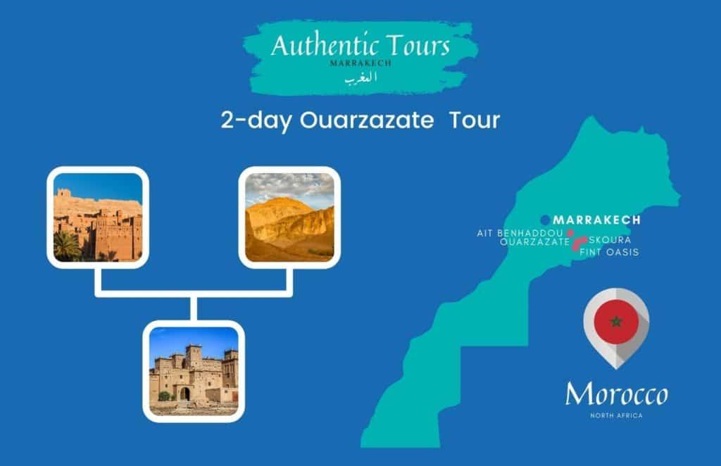 2-day Ait Benhaddou & Ouarzazate