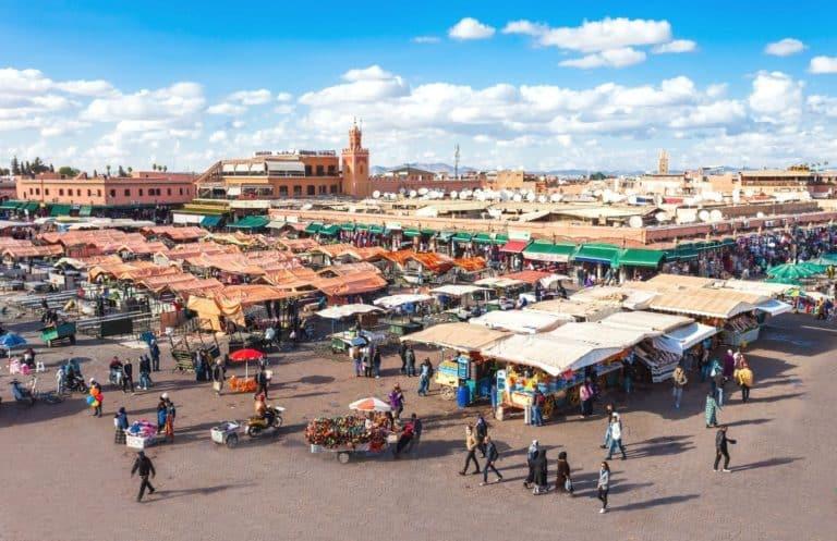 Jemaa El Fna Square Marrakech