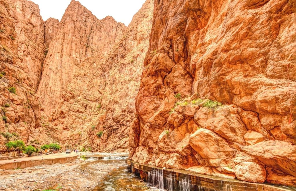 Todra Gorges in Morocco