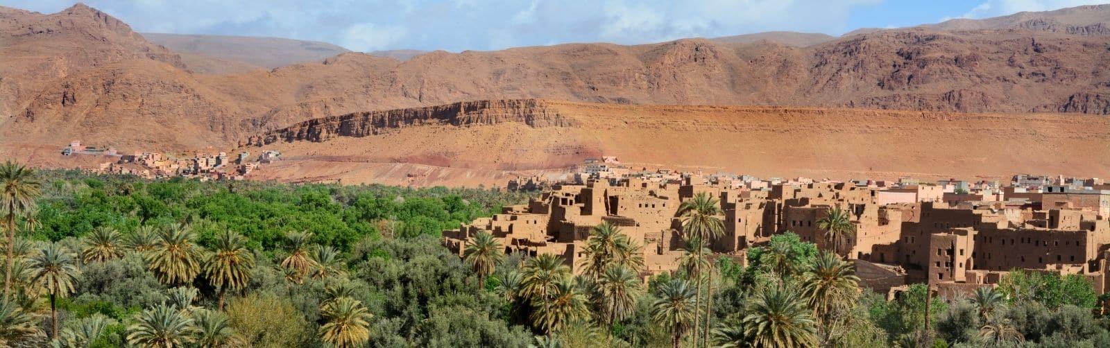 Tourist map of Morocco